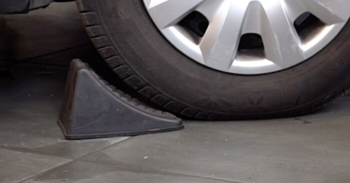 How to replace MAZDA 3 Saloon (BK) 1.6 2004 Brake Pads - step-by-step manuals and video guides