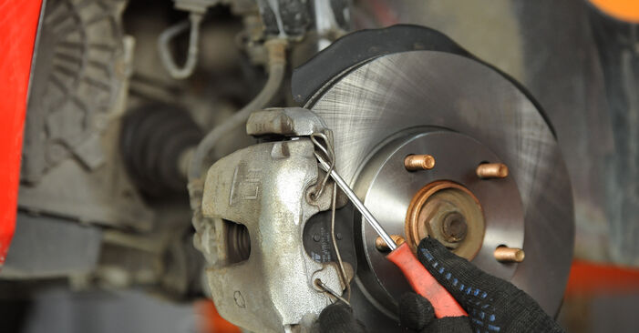 How hard is it to do yourself: Brake Pads replacement on Mazda 3 Saloon 2.3 2009 - download illustrated guide