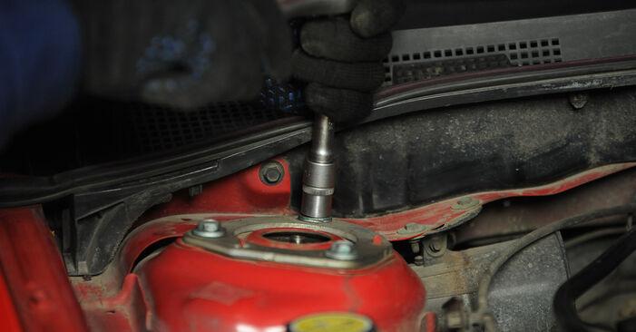 Stap voor stap tips om Mazda 3 Sedan 2009 1.4 Veren zelf te wisselen