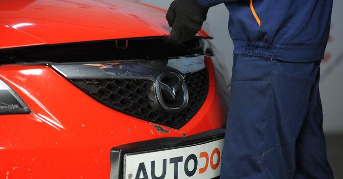 Veerpootlager zelf wisselen Mazda 3 Sedan 2006 1.6