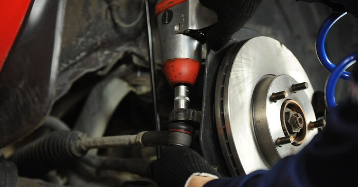 How to replace Control Arm on MAZDA 3 Saloon (BK) 2008: download PDF manuals and video instructions
