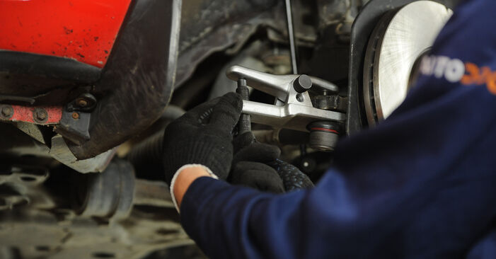 How hard is it to do yourself: Control Arm replacement on Mazda 3 Saloon 2.3 2009 - download illustrated guide