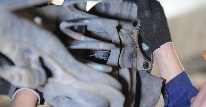 Austauschen Anleitung Radlager am Mazda 3 Limousine 2006 1.6 selbst