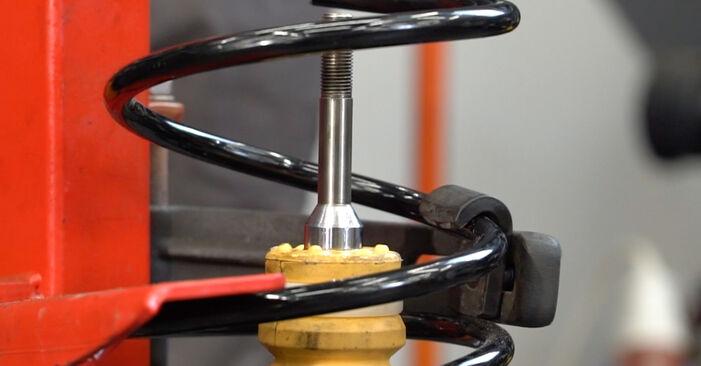 Schritt-für-Schritt-Anleitung zum selbstständigen Wechsel von Hyundai Santa Fe cm 2010 2.2 CRDi GLS Stoßdämpfer