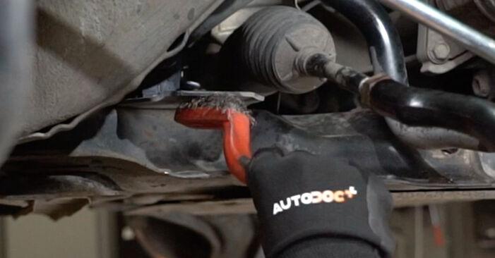 Replacing Control Arm on Hyundai Santa Fe cm 2007 2.2 CRDi 4x4 by yourself