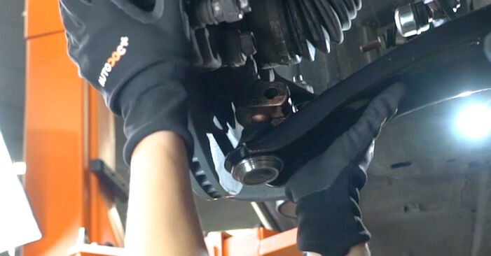 Step-by-step recommendations for DIY replacement Hyundai Santa Fe cm 2010 2.2 CRDi GLS Control Arm