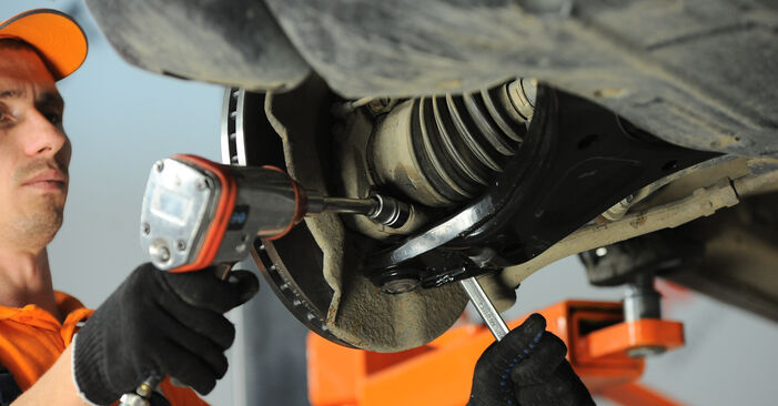How to change Control Arm on Hyundai Santa Fe cm 2005 - free PDF and video manuals