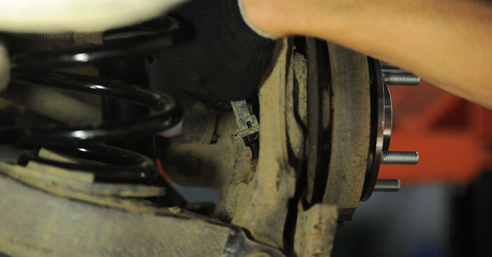 Step-by-step recommendations for DIY replacement Hyundai Santa Fe cm 2010 2.2 CRDi GLS Wheel Bearing