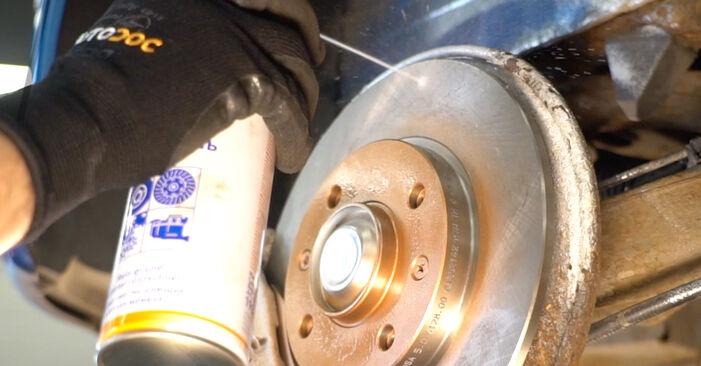 Changing Wheel Bearing on HYUNDAI SANTA FÉ II (CM) 2.7 V6 GLS 4x4 2008 by yourself