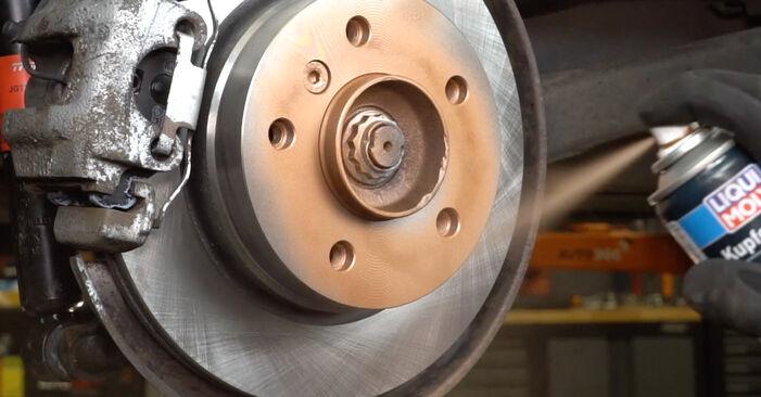 Bremsbeläge beim BMW 3 SERIES 318tds 1.7 1997 selber erneuern - DIY-Manual