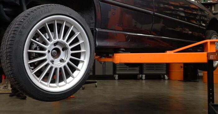 Bremsbeläge BMW E36 325i 2.5 1992 wechseln: Kostenlose Reparaturhandbücher