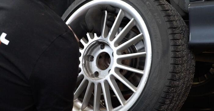 Wie BMW 3 SERIES 318i 1.8 1994 Bremsbeläge ausbauen - Einfach zu verstehende Anleitungen online