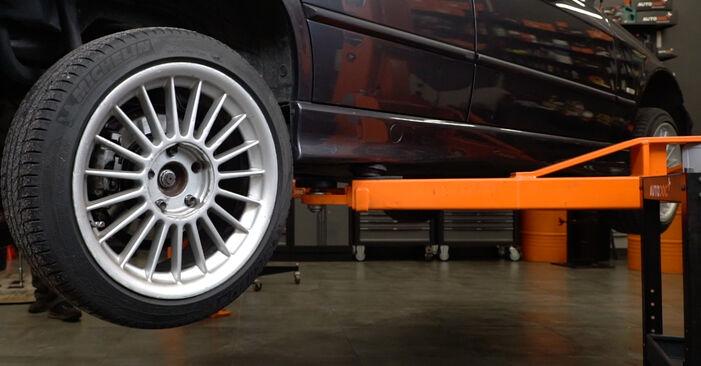 Bremsscheiben BMW E36 325i 2.5 1992 wechseln: Kostenlose Reparaturhandbücher
