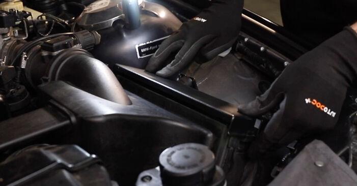 BMW 3 SERIES 325td 2.5 Luftfilter austauschen: Tutorials und Video-Anweisungen online