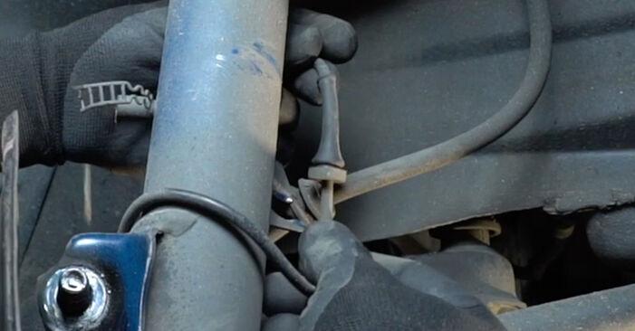 Bytte 3 Sedan (E36) 318i 1.8 1998 Støtdemper – gjør det selv med vår veiledning