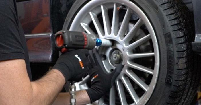 Vanskelighetsgrad: Bytte av Støtdemper på BMW E36 323i 2.5 2000 – last ned illustrert veiledning