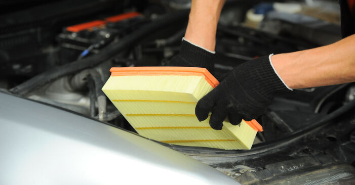 Cik ilgu laiku aizņem nomaiņa: Audi A4 B5 Avant 1994 Gaisa filtrs - informatīva PDF rokasgrāmata