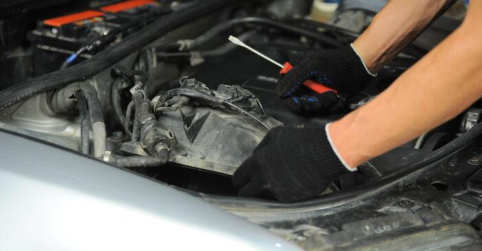 Cik grūti ir veikt Gaisa filtrs nomaiņu Audi A4 B5 Avant 2.5 TDI 2000 - lejupielādējiet ilustrētu ceļvedi
