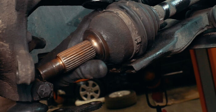 Radlager Ihres Ford Mondeo mk3 Limousine 1.8 SCi 2000 selbst Wechsel - Gratis Tutorial