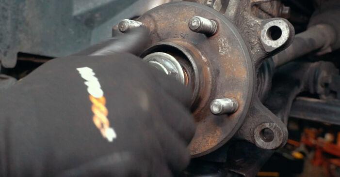 Radlager am FORD MONDEO III Stufenheck (B4Y) 2.5 V6 24V 2005 wechseln – Laden Sie sich PDF-Handbücher und Videoanleitungen herunter