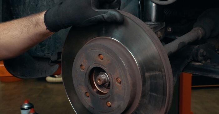 MONDEO III Stufenheck (B4Y) ST220 3.0 2003 2.0 16V Radlager - Handbuch zum Wechsel und der Reparatur eigenständig