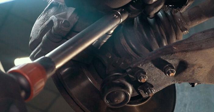 Schritt-für-Schritt-Anleitung zum selbstständigen Wechsel von Ford Mondeo mk3 Limousine 2005 ST220 3.0 Radlager