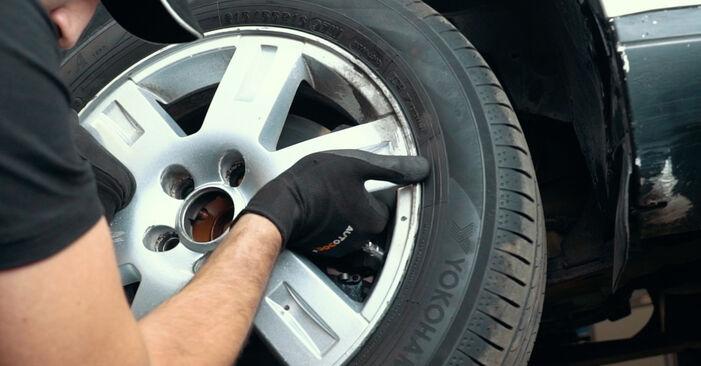 Radlager Ford Mondeo mk3 Limousine 2.0 16V TDDi / TDCi 2002 wechseln: Kostenlose Reparaturhandbücher
