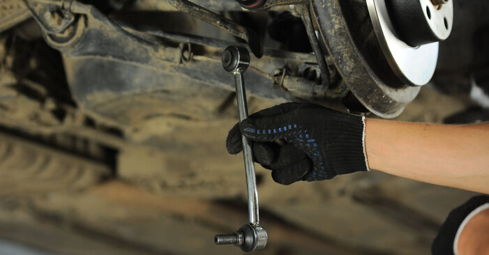 Changing of Anti Roll Bar Links on Audi A4 B5 Avant 1994 won't be an issue if you follow this illustrated step-by-step guide