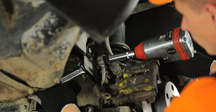 How hard is it to do yourself: Anti Roll Bar Links replacement on Audi A4 B5 Avant 2.5 TDI 2000 - download illustrated guide