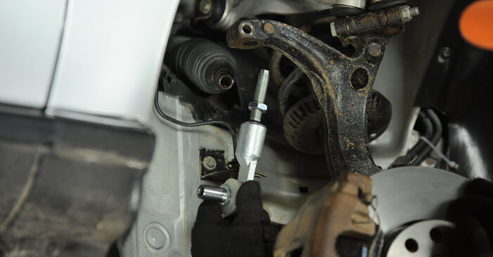 DIY replacement of Track Rod End on AUDI A4 Avant (8D5, B5) S4 2.7 quattro 2000 is not an issue anymore with our step-by-step tutorial