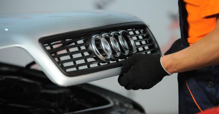 Wie Bremsscheiben Audi A4 B5 Avant 1.9 TDI 1994 tauschen - Kostenlose PDF- und Videoanleitungen