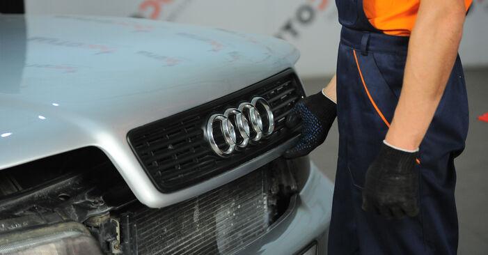 Zalecenia krok po kroku dotyczące samodzielnej wymiany Audi A4 B5 Avant 1999 1.8 T quattro Tarcza hamulcowa