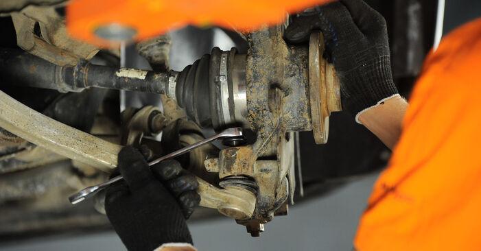 Radlager Audi A4 B5 Avant S4 2.7 quattro 1996 wechseln: Kostenlose Reparaturhandbücher