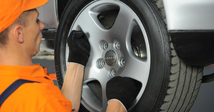 Schritt-für-Schritt-Anleitung zum selbstständigen Wechsel von Audi A4 B5 Avant 1999 1.8 T quattro Radlager