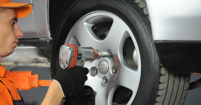 Zweckdienliche Tipps zum Austausch von Radlager beim AUDI A4 Avant (8D5, B5) S4 2.7 quattro 2000