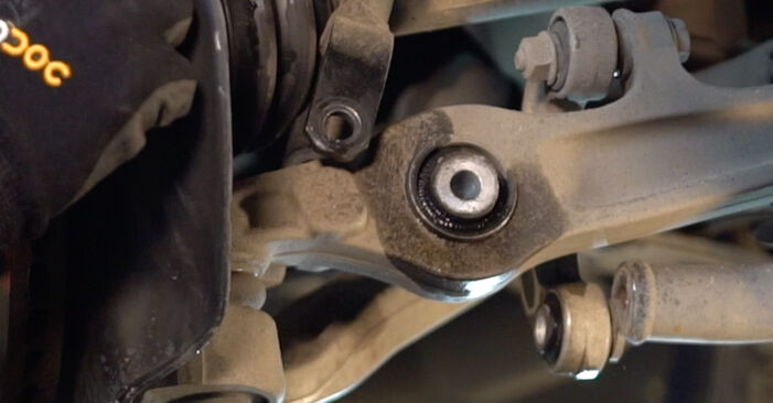 A4 Avant (8D5, B5) 1.8 T quattro 1997 Amortiguadores manual de taller de sustitución por su cuenta