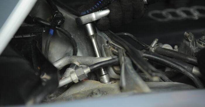 Cómo cambiar Amortiguadores en un Audi A4 B5 Avant 1994 - Manuales en PDF y en video gratuitos