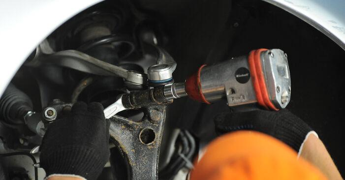 Cambio Amortiguadores en Audi A4 B5 Avant 1994 no será un problema si sigue esta guía ilustrada paso a paso