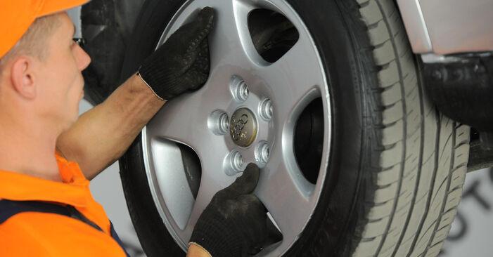 Vanskelighetsgrad: Bytte av Støtdemper på Audi A4 B5 Avant 2.5 TDI 2000 – last ned illustrert veiledning