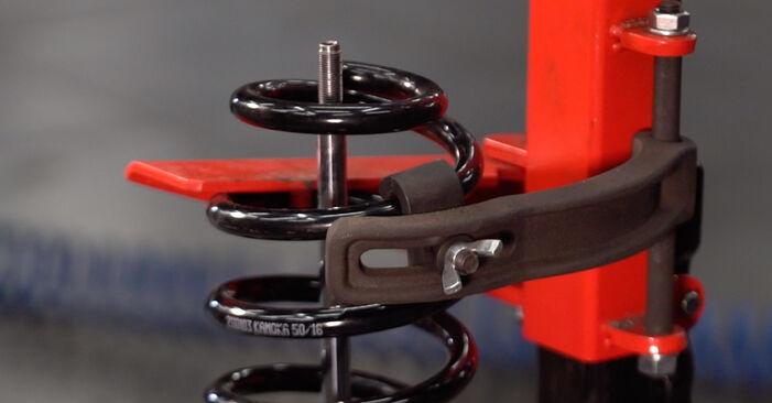 AUDI A4 1.8 Federn ausbauen: Anweisungen und Video-Tutorials online