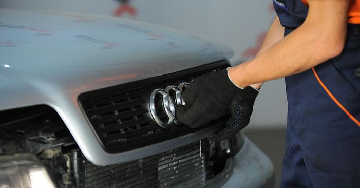 Federn Audi A4 B5 Avant S4 2.7 quattro 1996 wechseln: Kostenlose Reparaturhandbücher