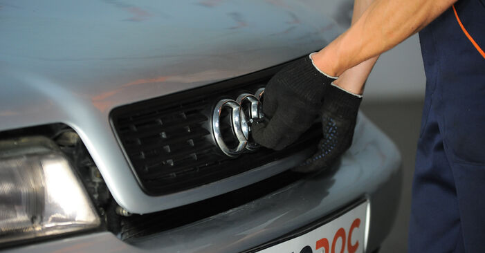 Stufenweiser Leitfaden zum Teilewechsel in Eigenregie von Audi A4 B5 Avant 1999 1.8 T quattro Domlager