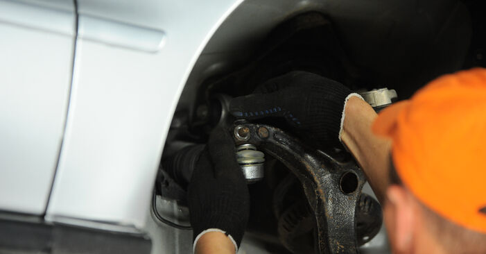 How to change Track Rod End on Audi A4 B5 Avant 1994 - free PDF and video manuals