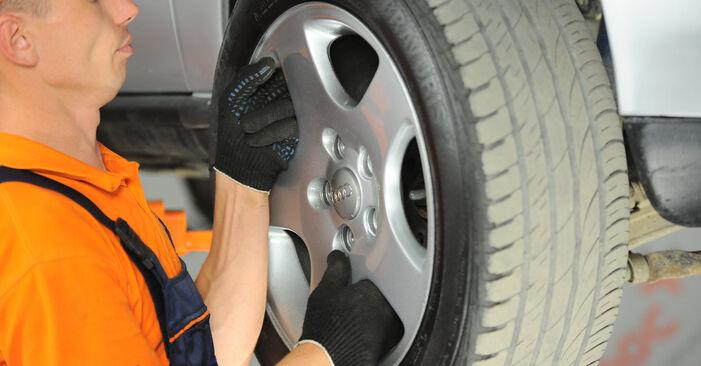 Kuidas eemaldada AUDI A4 1.8 T quattro 1998 Õõtshoob - hõlpsasti järgitavad juhised online