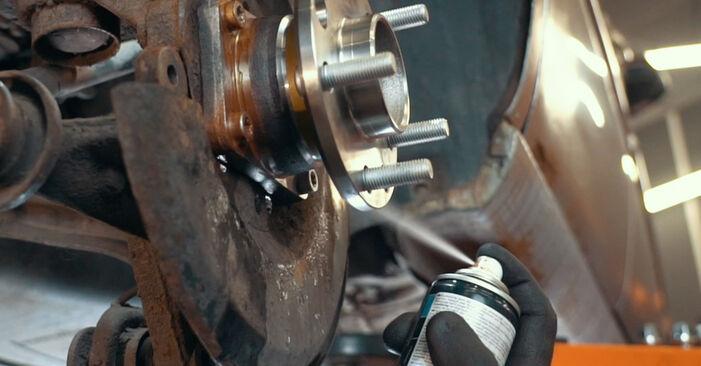MONDEO III sedanas (B4Y) ST220 3.0 2003 Rato guolis savarankiško keitimo instrukcija