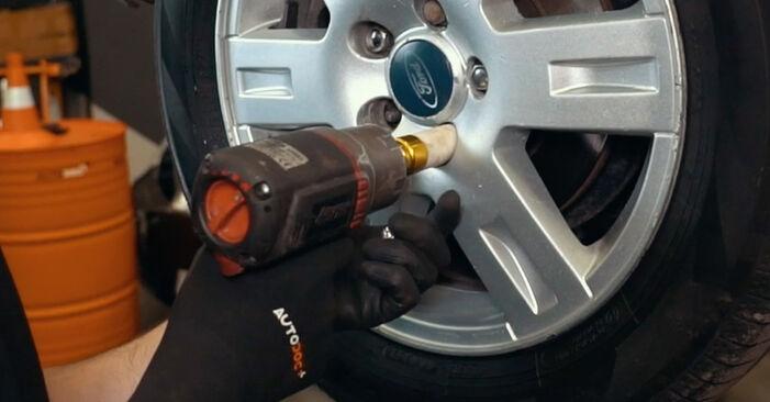 Ford Mondeo mk3 Sedanas 2.0 16V 2002 Rato guolis keitimas: nemokamos remonto instrukcijos