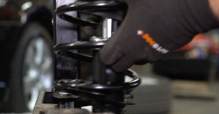 Stoßdämpfer Ford Mondeo mk3 Limousine 2.0 16V TDDi / TDCi 2002 wechseln: Kostenlose Reparaturhandbücher