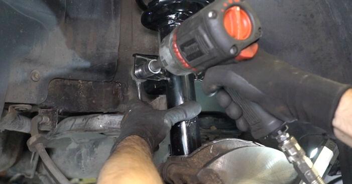 Schritt-für-Schritt-Anleitung zum selbstständigen Wechsel von Ford Mondeo mk3 Limousine 2005 ST220 3.0 Stoßdämpfer