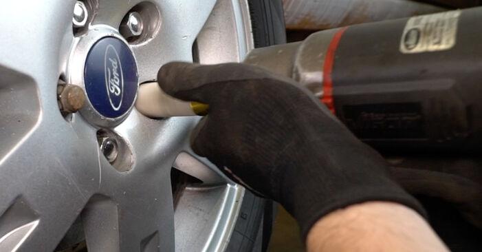 Federn Ford Mondeo mk3 Limousine 2.0 16V TDDi / TDCi 2002 wechseln: Kostenlose Reparaturhandbücher