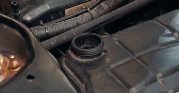 Mennyire nehéz önállóan elvégezni: Ford Mondeo mk3 Sedan 2.2 TDCi 2006 Termosztát cseréje - töltse le az ábrákat tartalmazó útmutatót